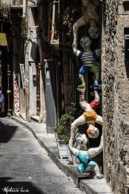 marionnettes dans les rues de ortygia