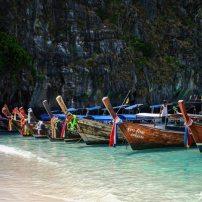 plage de koh phi phi long tail