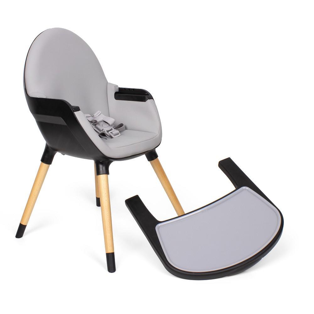 chaise haute bebe noir baby grow