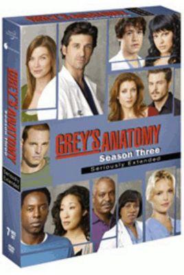DVD Grey´s Anatomy - Season 3, Disney | myToys