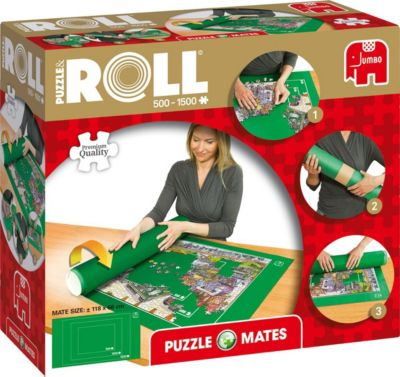 puzzlematte puzzle roll 500 1500 teile jumbo