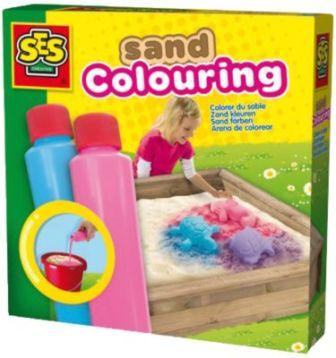 02211 Sandfarbe blau & pink, 2 x 200 ml