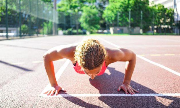 S'entraînerau poids de corps