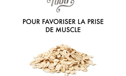 """Série Healthy Food""""Favoriser la prise de muscle"""""""