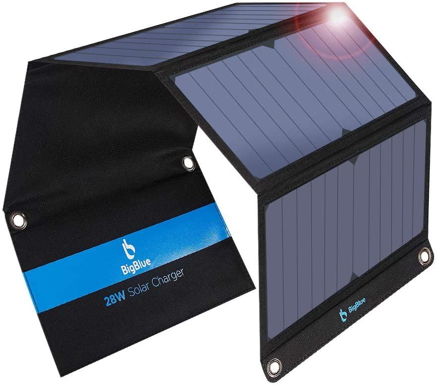 BigBlue 28W tragbares Solar Ladegerät