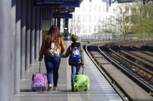 Reisetasche mit Rollen Test
