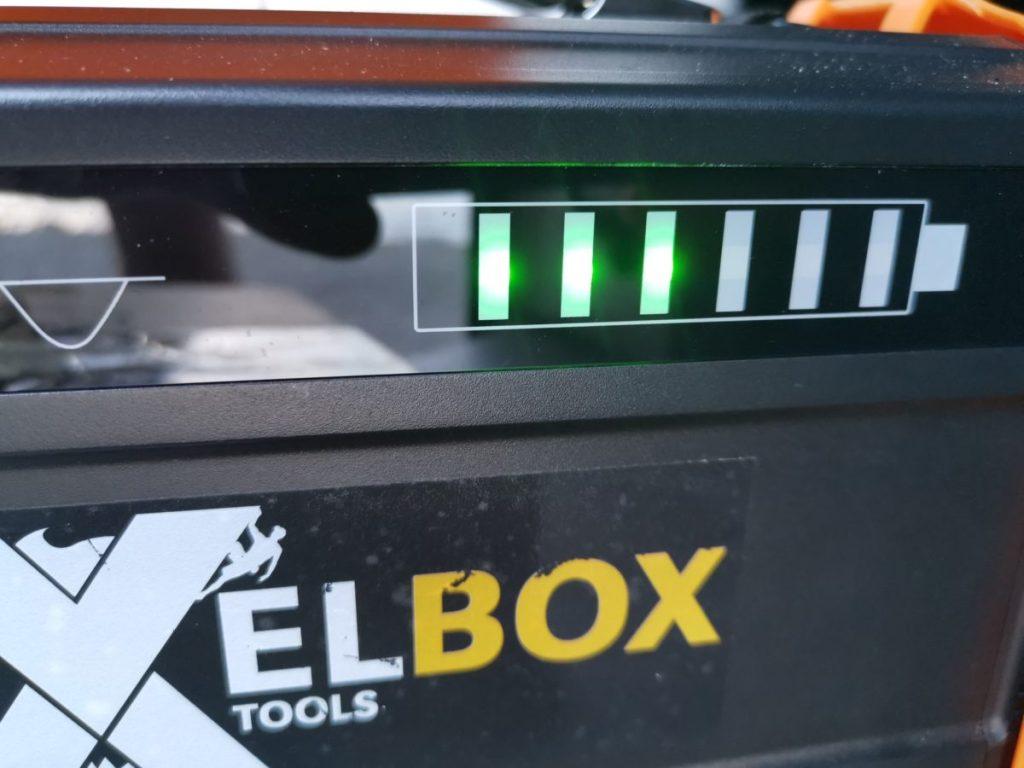 Ladezustand Batterieanzeige