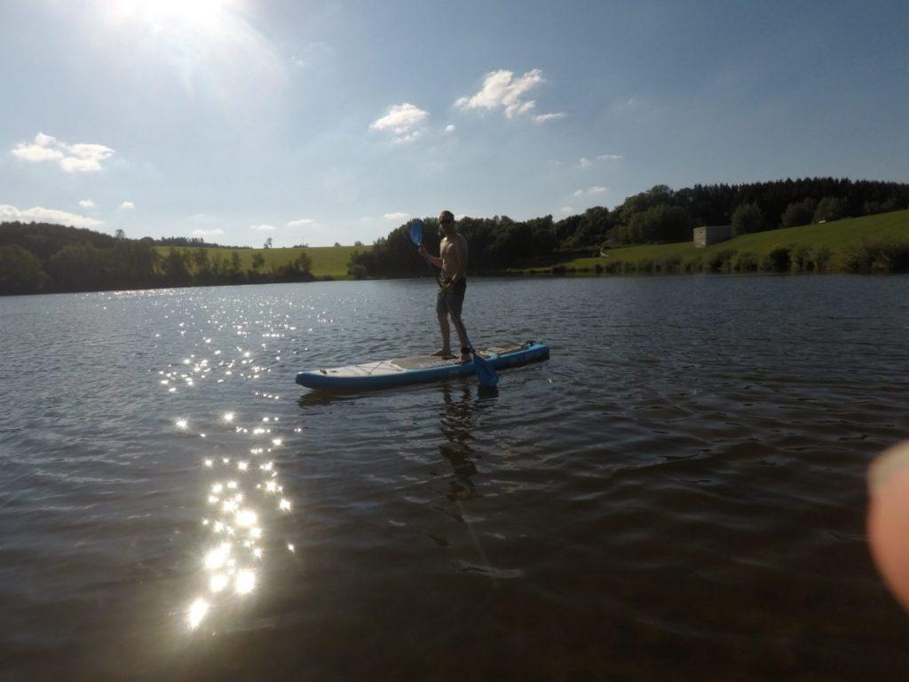SUP Board Test Bluefin