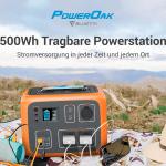 PowerOak AC50S 500Wh im Test