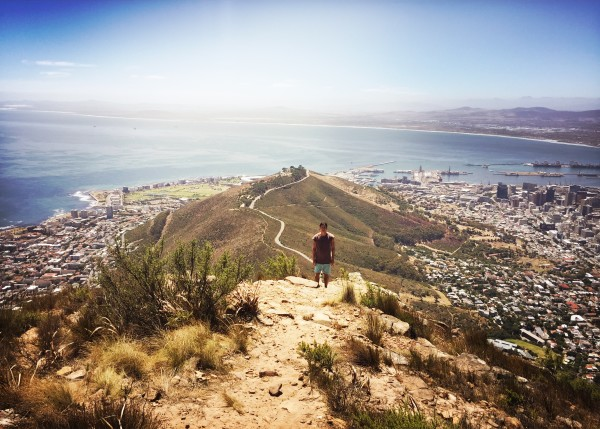 Hiking Capetown View Point Lions Head