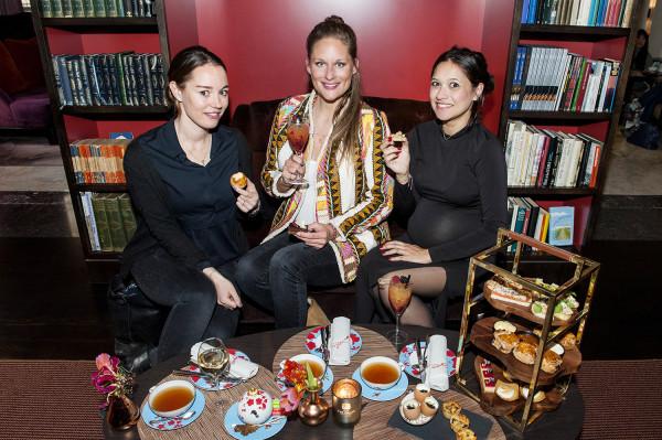 The Grand Hotel, High tea, Lotte Jansen, Rachel Siwaletti, Rebecca Boektje, winnaar,metro, 04-04-2016