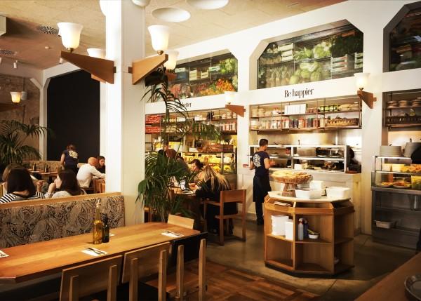 Flax & Kale Healthy Vegan Hotspot Barcelona breakfast lunch dinner juice