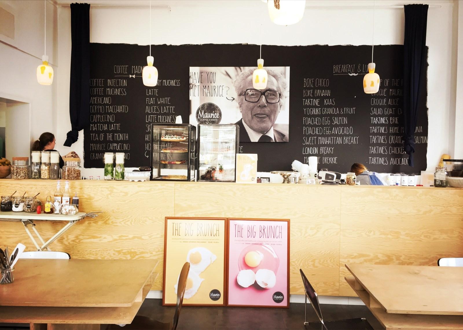 Maurice Coffee en Knits