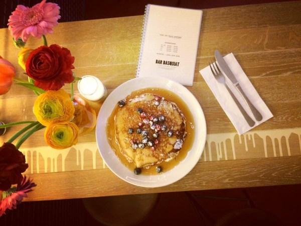 Bar Basquiat Pancakes