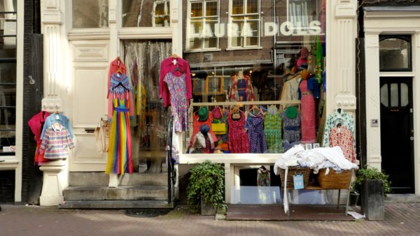 Shoppen in de 9 straatjes