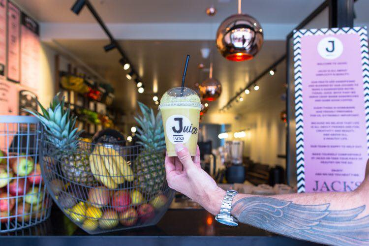 Jacks juice bar