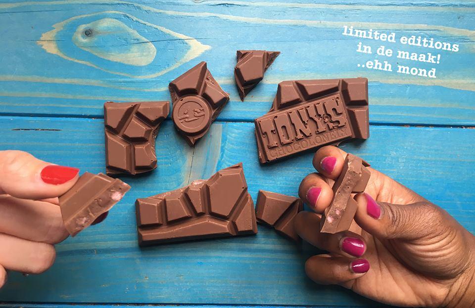 Dit zijn de nieuwe limited edition chocolade repen van Tony's!