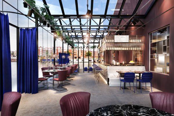 De Kop van Oost opent deze zomer in Amsterdam Oost