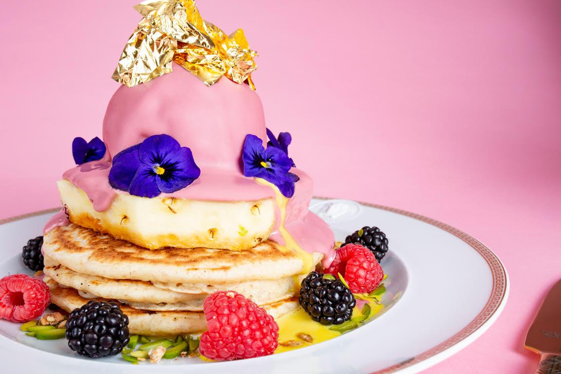 Moak Pancakes serveert pancakes met echt goud