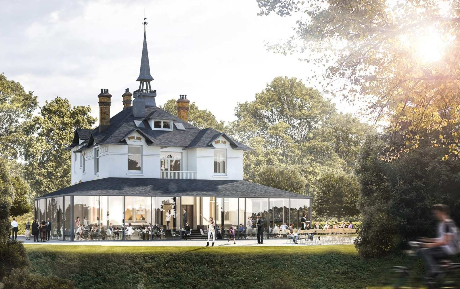 Westervilla in het Westerpark is open