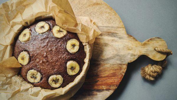 Gezonde bananenmuffins met chocolade