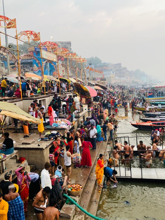 dashashwamedh ghat on mahashivaratri