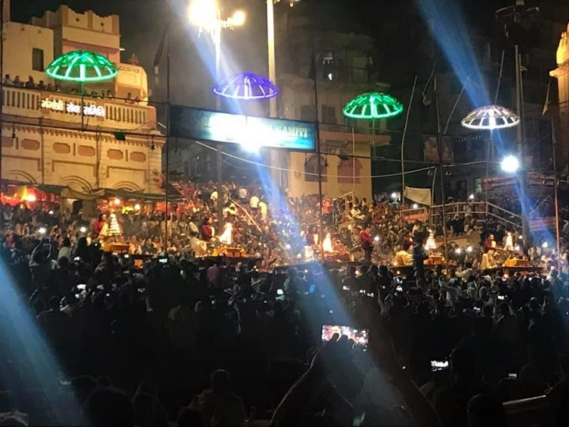 evening ganga aarti banaras