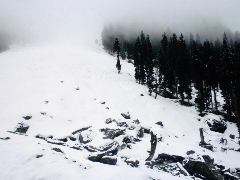 snow pahalgam