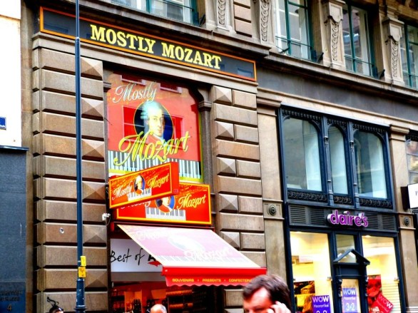 Mozart chocolate Vienna