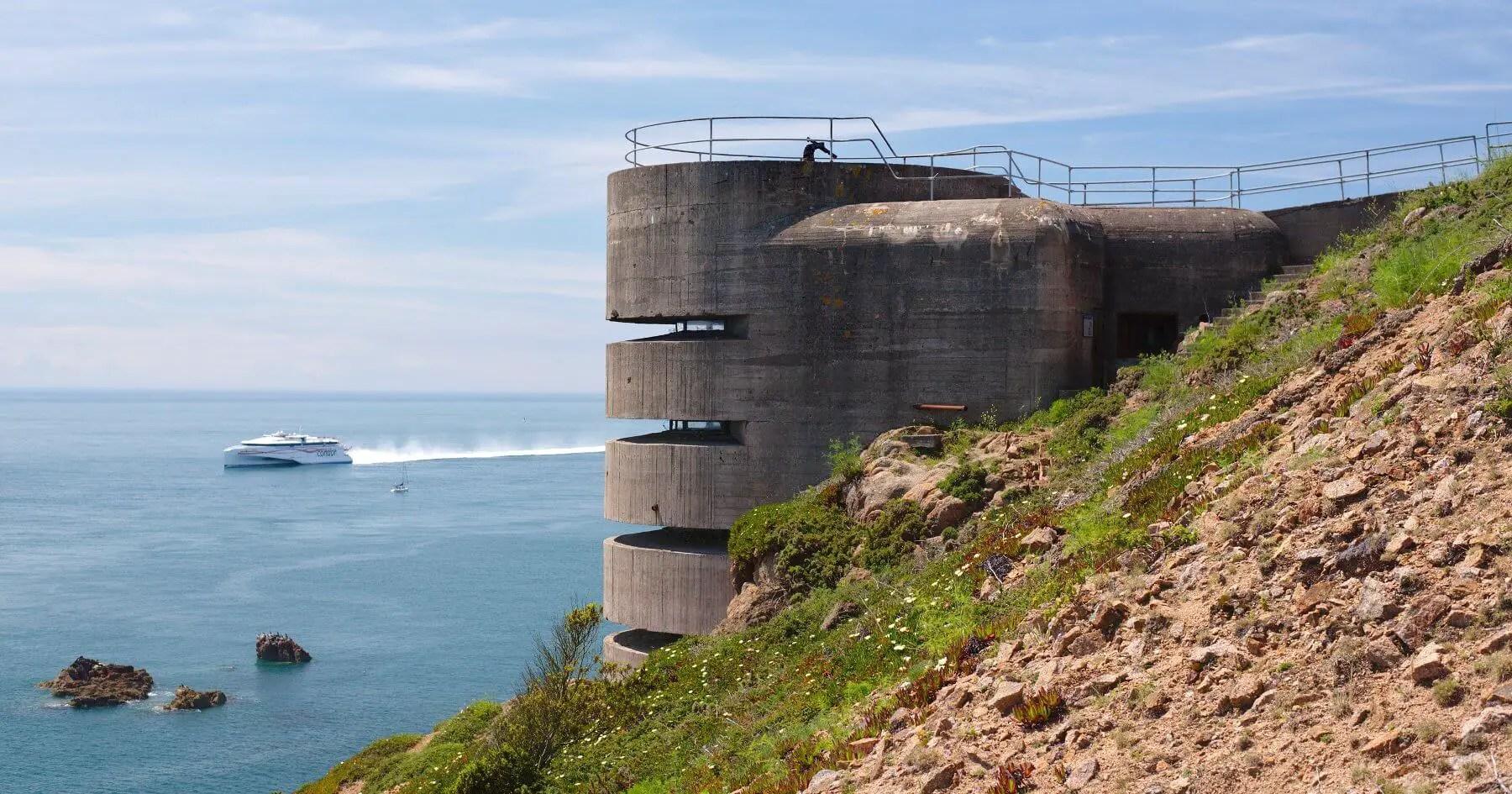 German-Occupied Jersey - Exploring Bunkers & Batteries