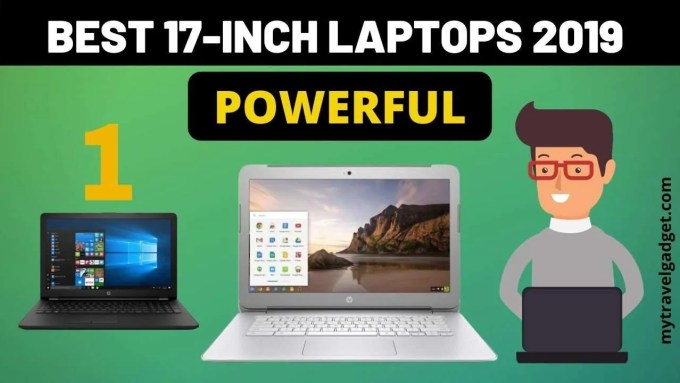 best 17 inch laptops