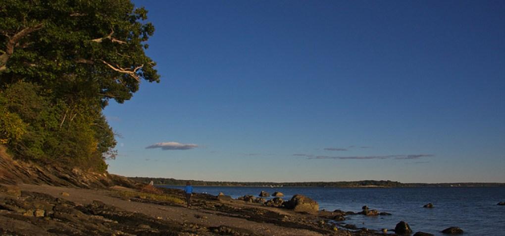 Macworth Island, Falmouth, Maine www.mytravelingkids.com
