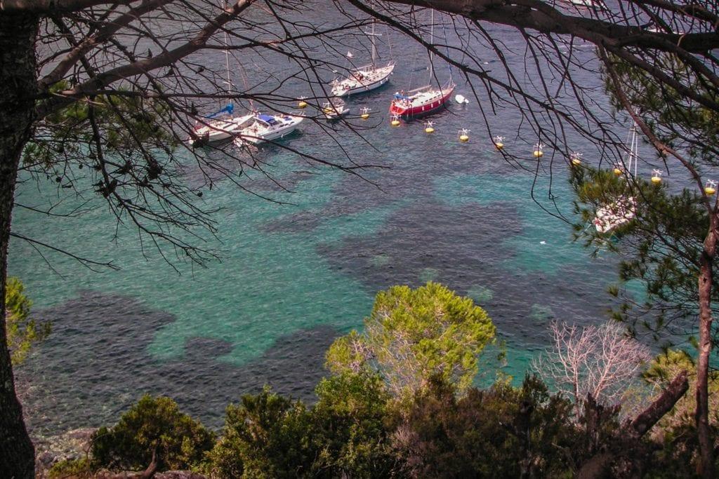 Capraia Island of Tuscany