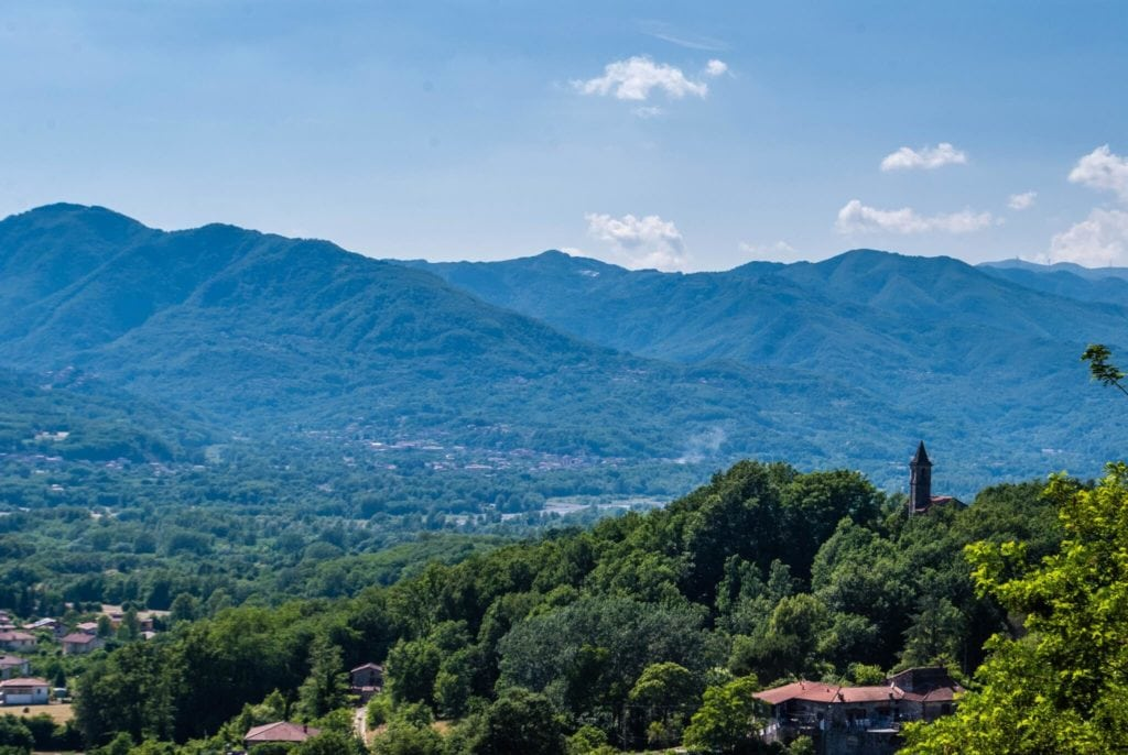 Malgrate Castle view lunigiana tuscany