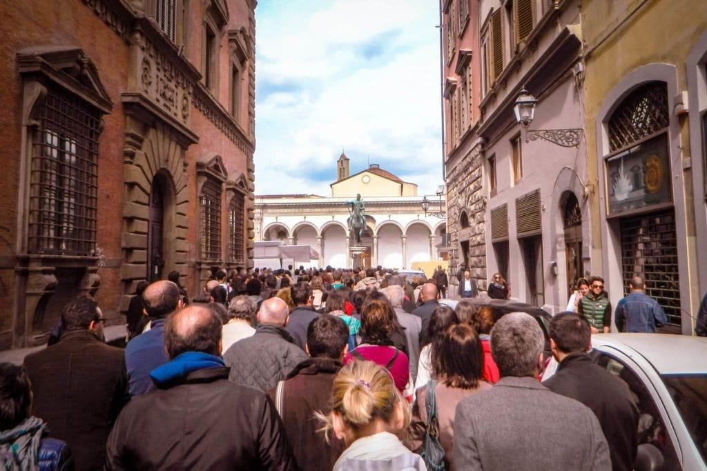 Procession to Santa Annunziata Joe Mack Florence Tuscany