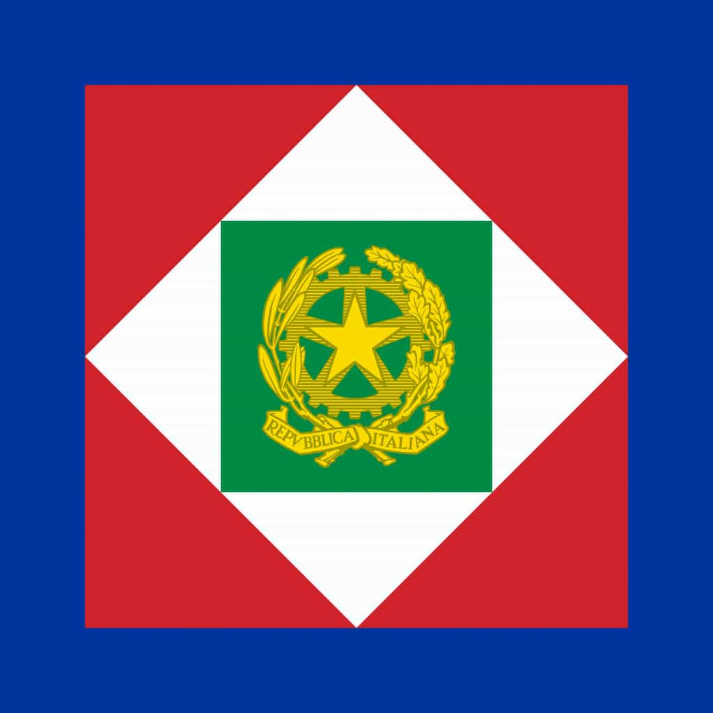 The standard of the President of the italian republic - Republic Day