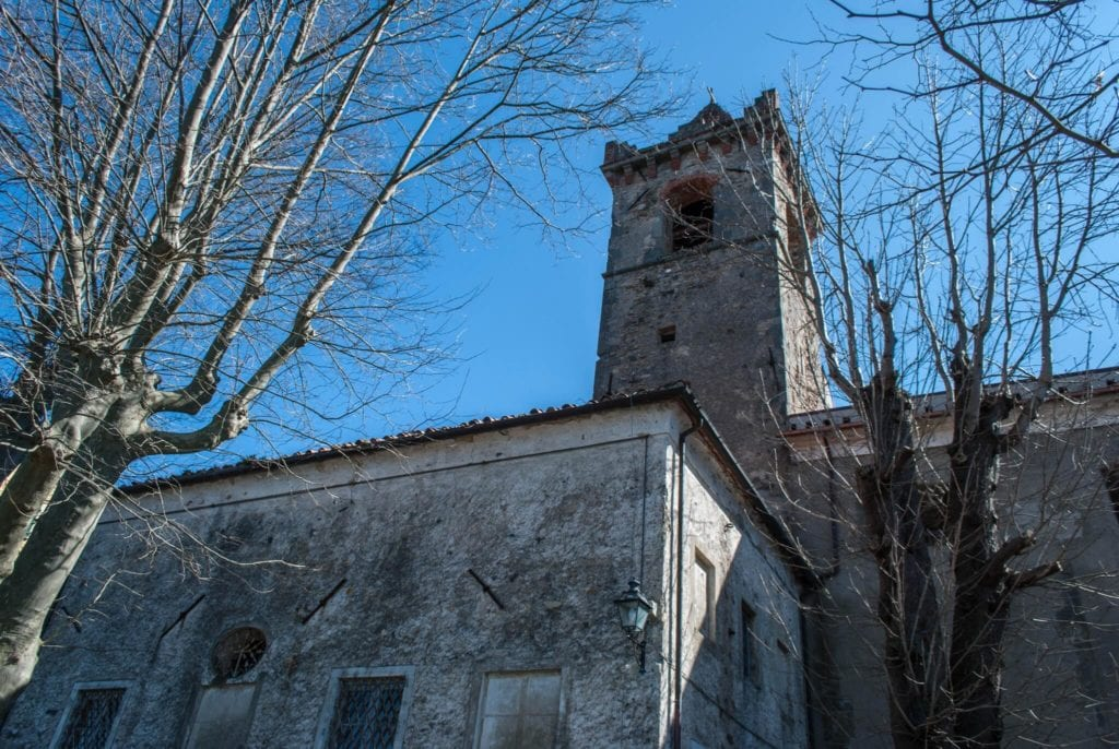 Church of San Remigio Fosdinovo Tuscany