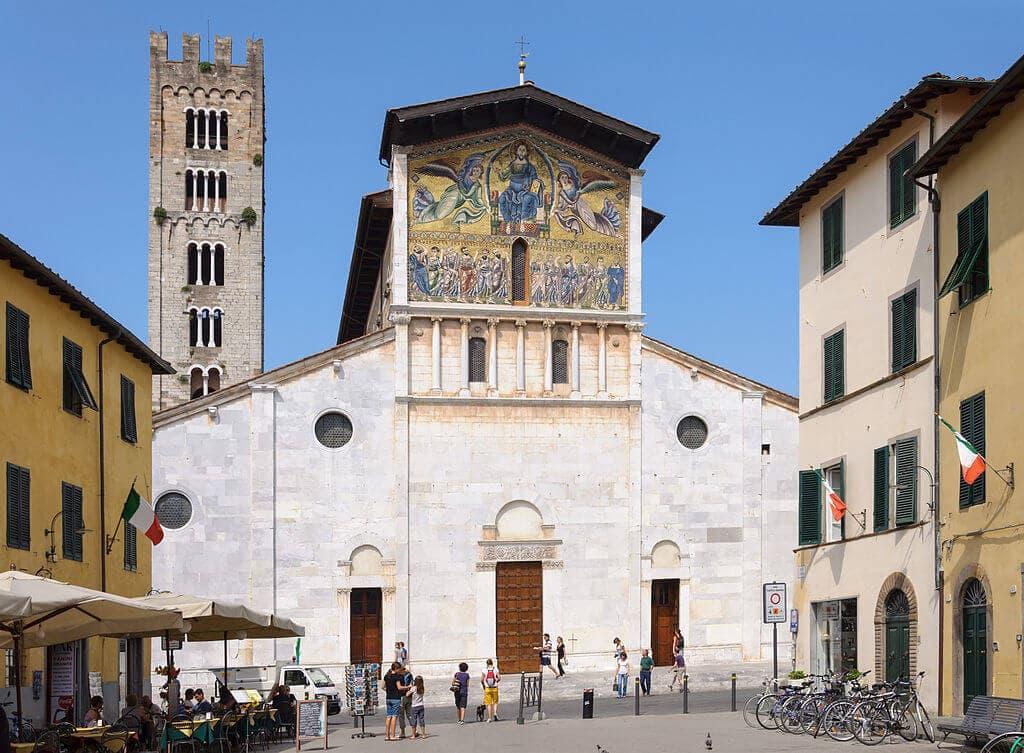 Basilica San Frediano Lucca