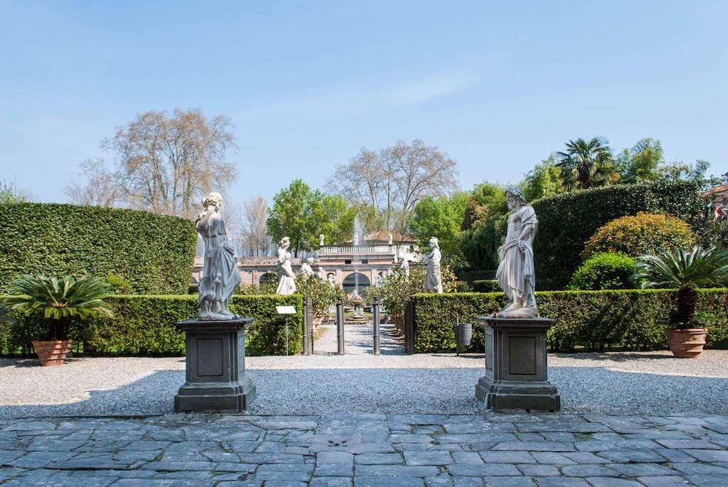 Giardini Palazzo Pfenner Lucca
