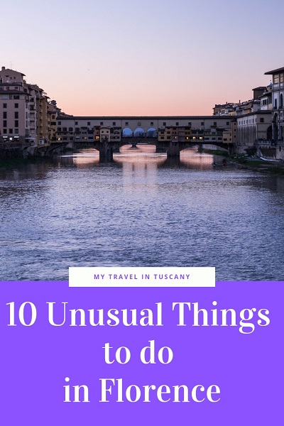 Unusual things to do in Florence
