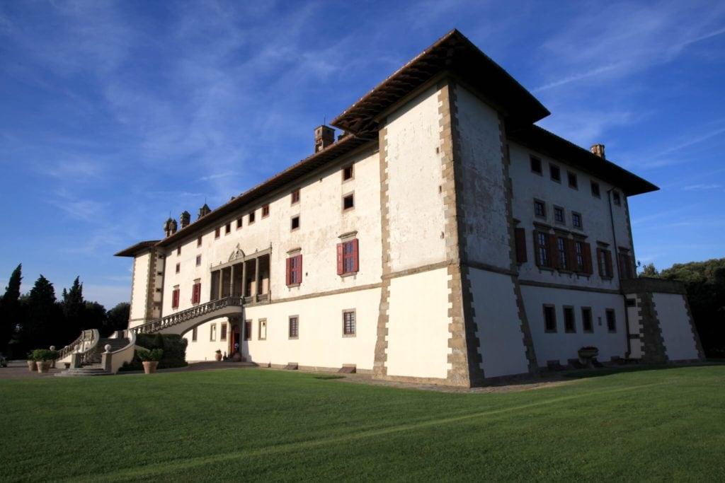 Villa Artimino park Tuscany