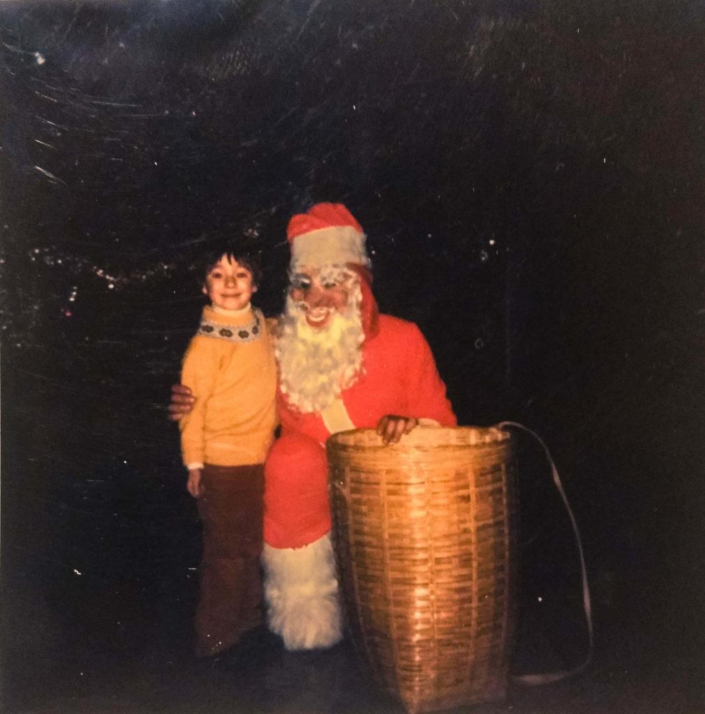 Edoardo and Santa Christmas Traditions in Tuscany