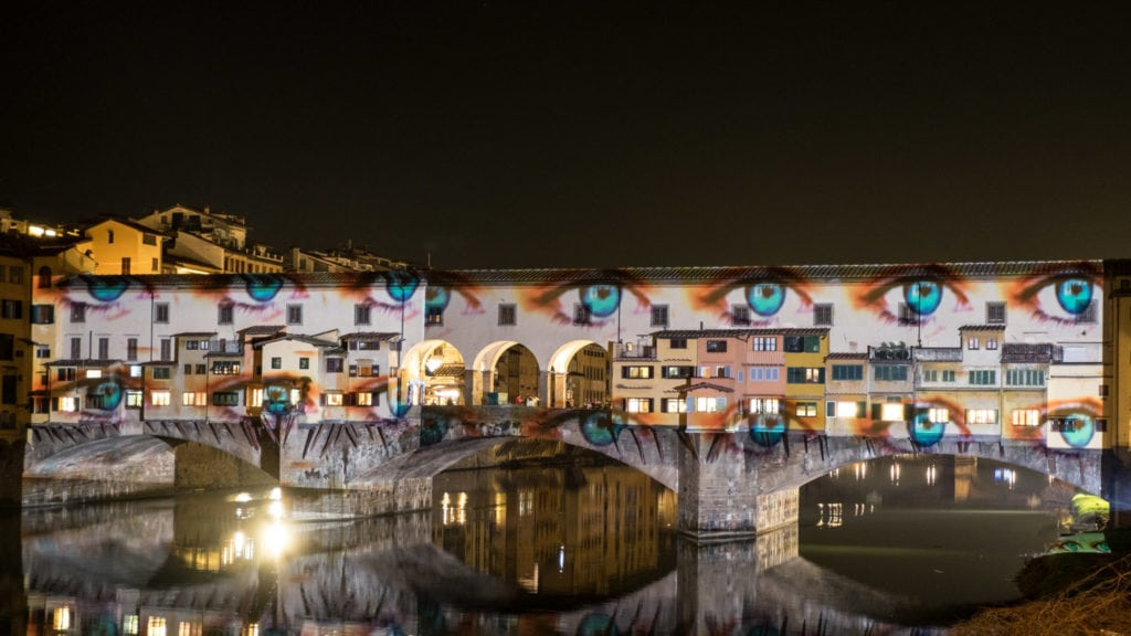Florence Pontevecchio enlightened for f-light festival