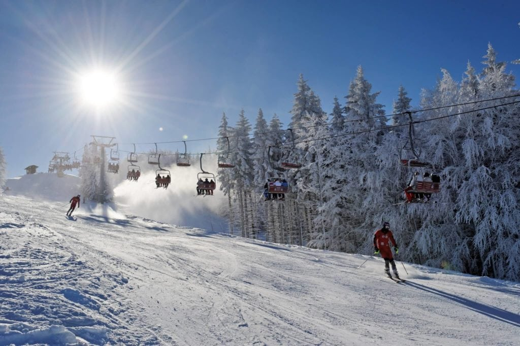 Monte Cimone skiing in Tuscany MTIT