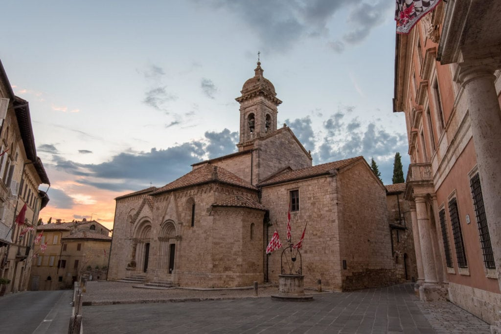 San Quirico D'Orcia Tuscany villages