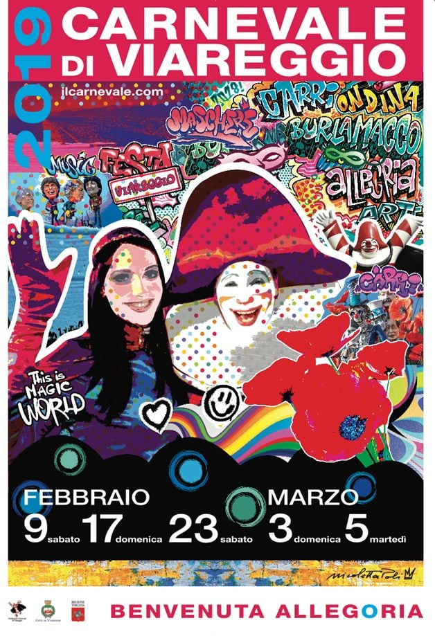 Carnival of Viareggio 2019