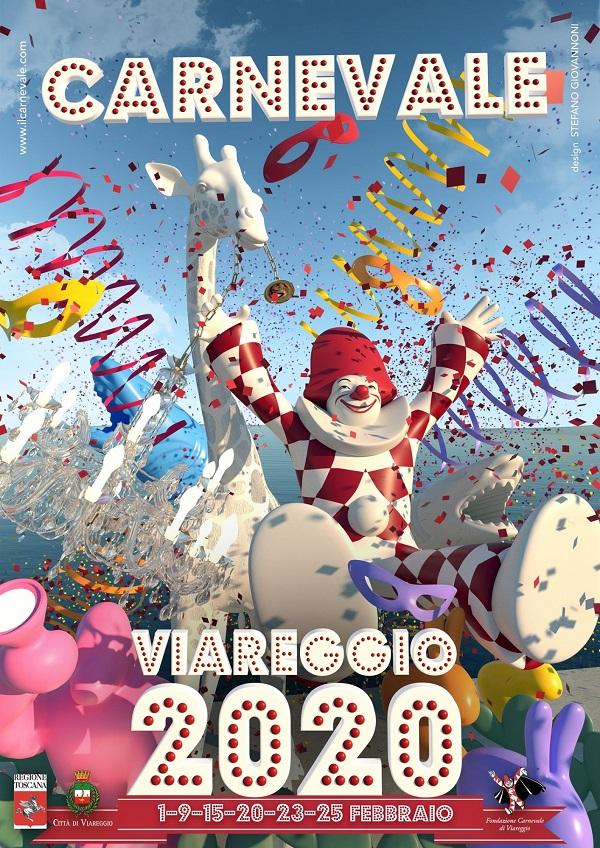 Viareggio Carnival 2020 poster