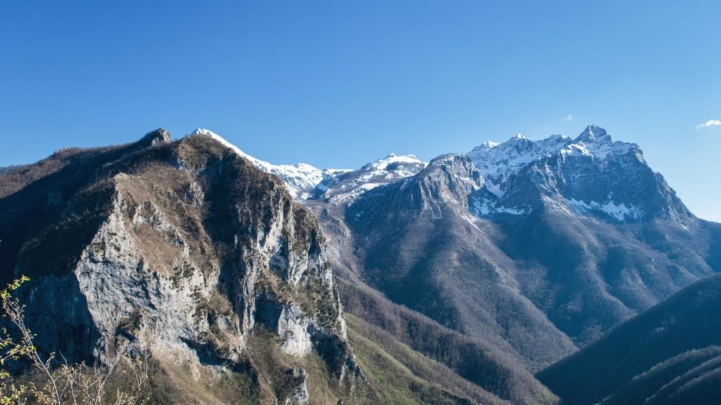 Garfagnana moutains