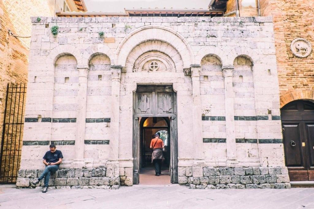 Chiesa San Francesco Unconventional tour of San Gimignano