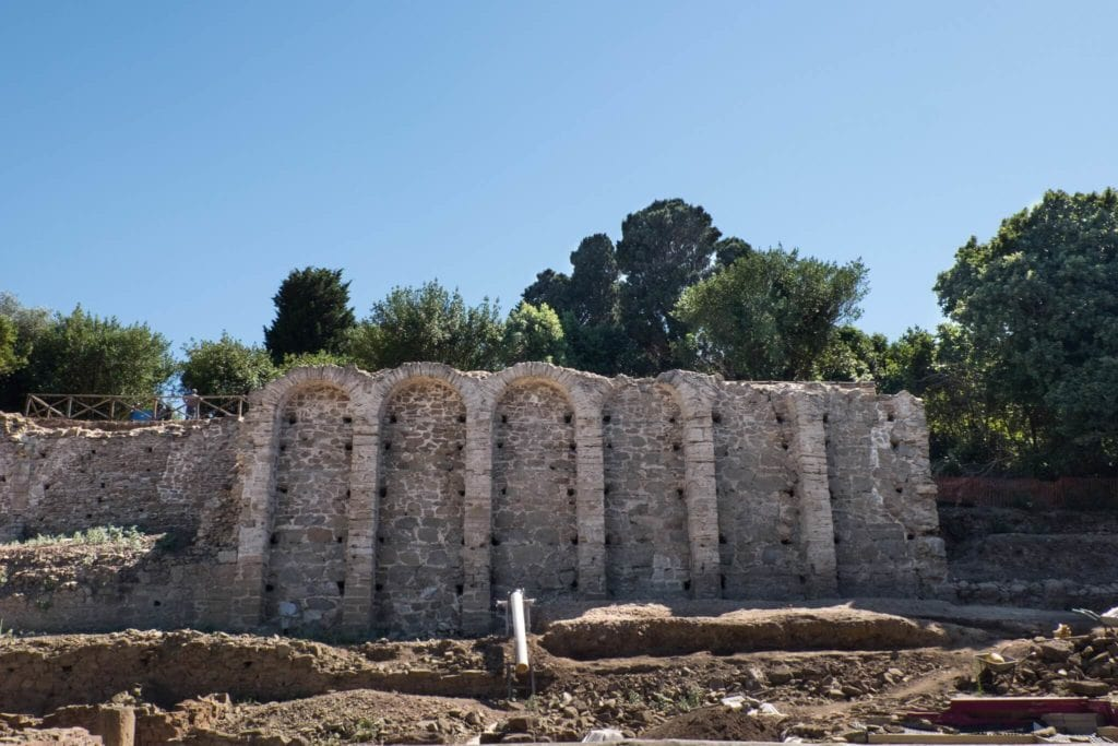 cisterna archaeological park of baratti and populonia